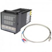 Термостат PID REX-C100FK04-M AN 0-800C Релейный выход K-type 1 метр