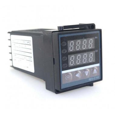 Термостат PID REX-C100FK02-V AN 0-1372C (Полная версия) Выход твердотельное реле