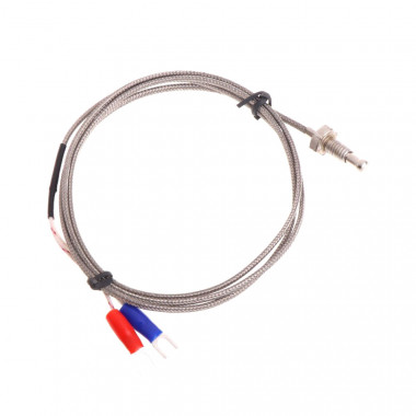 Датчик температуры Термопара К-тип M6 кабель 2 метра