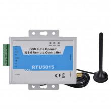GSM модуль управления шлагбаумом и воротами RTU5015 с двумя входами
