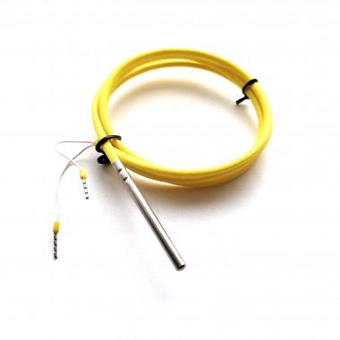NTC 10K 4 x 50 мм датчик температуры кабель 1 метр
