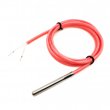 NTC 10K 5 x 50 мм датчик температуры кабель 1 метр