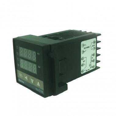 Термостат PID REX-C100FK02-V-DN 0-400C Выход под твердотельное реле (SSR) K-type 1 метр