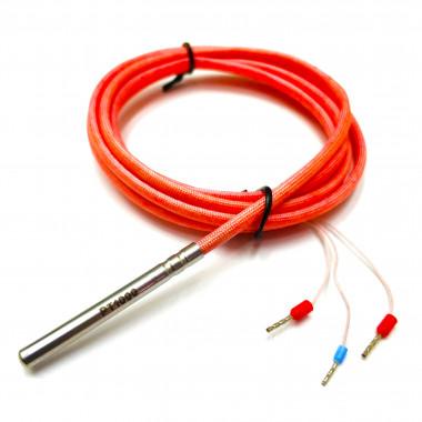Pt1000 датчик температуры 5 х 50 мм кабель 2 метра