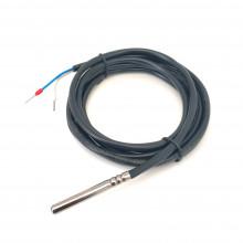 Pt100 датчик температуры 6 х 50 мм кабель 2 метра PVC
