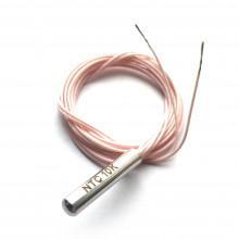 Датчик температуры NTC 10K 5 х 25 мм -55 +300 град. кабель 1 метр
